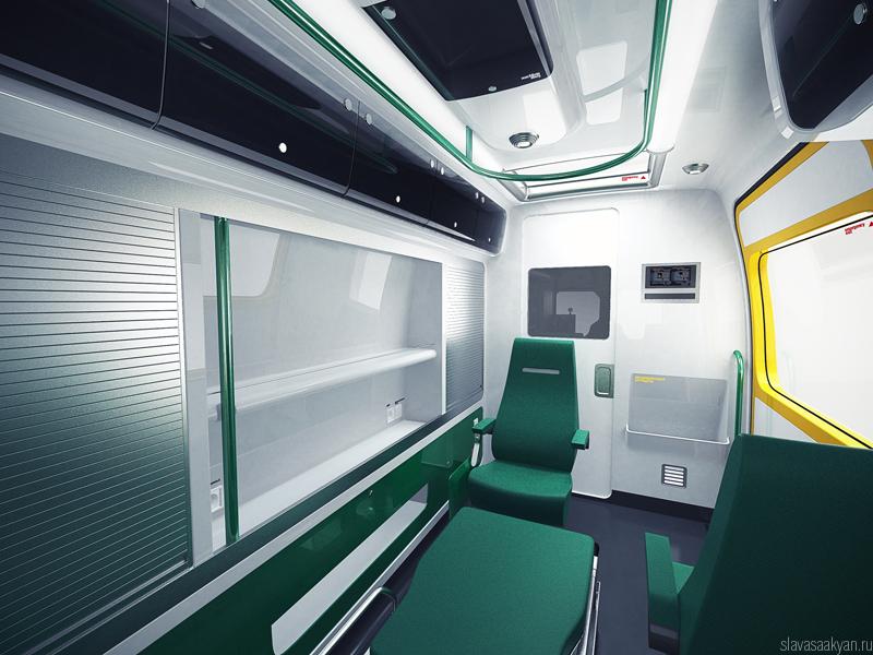 ambulance by slava saakyan at coroflotcom