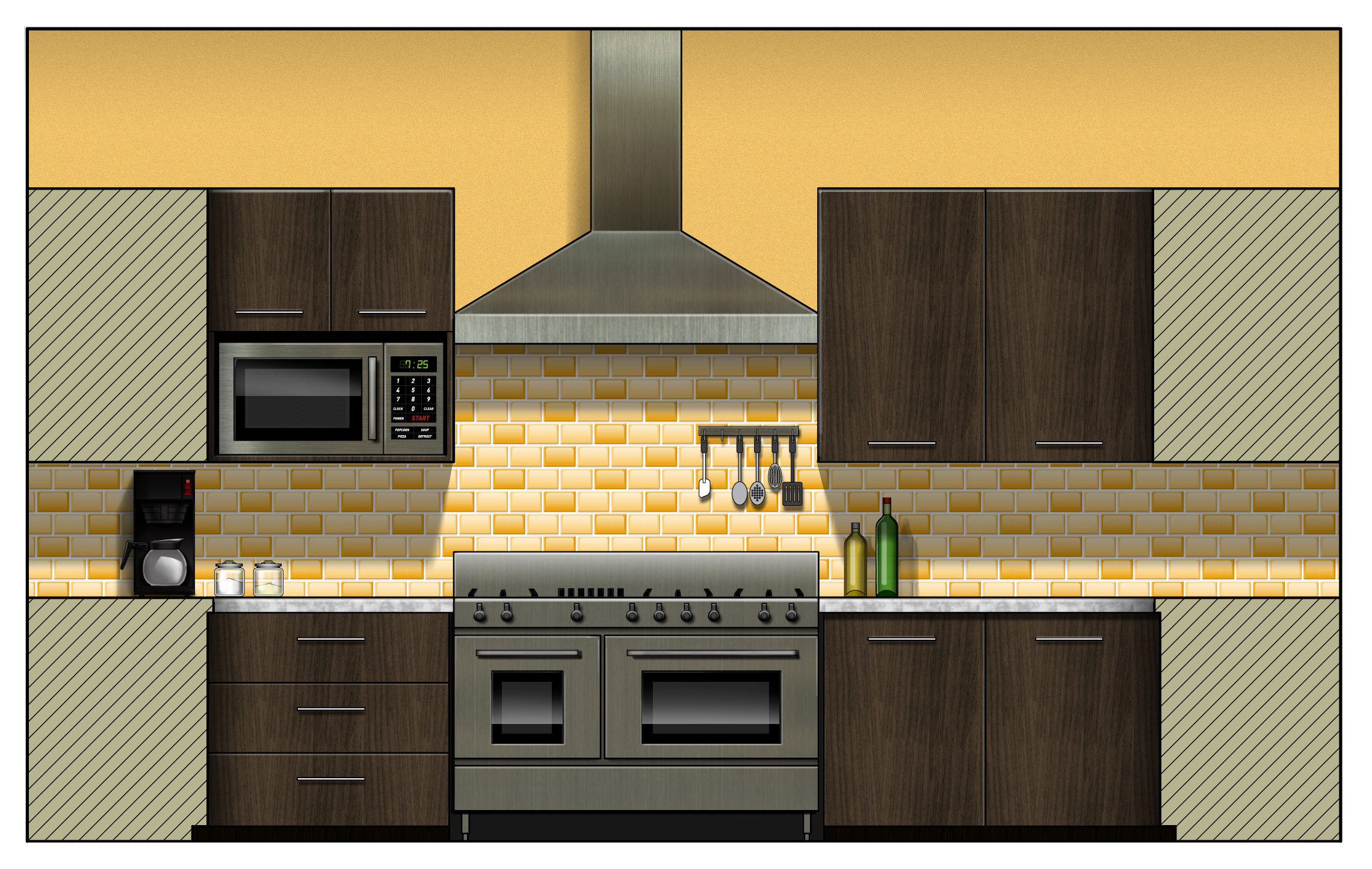 Cad Kitchen Design Home Decor - Cad For Kitchen Design