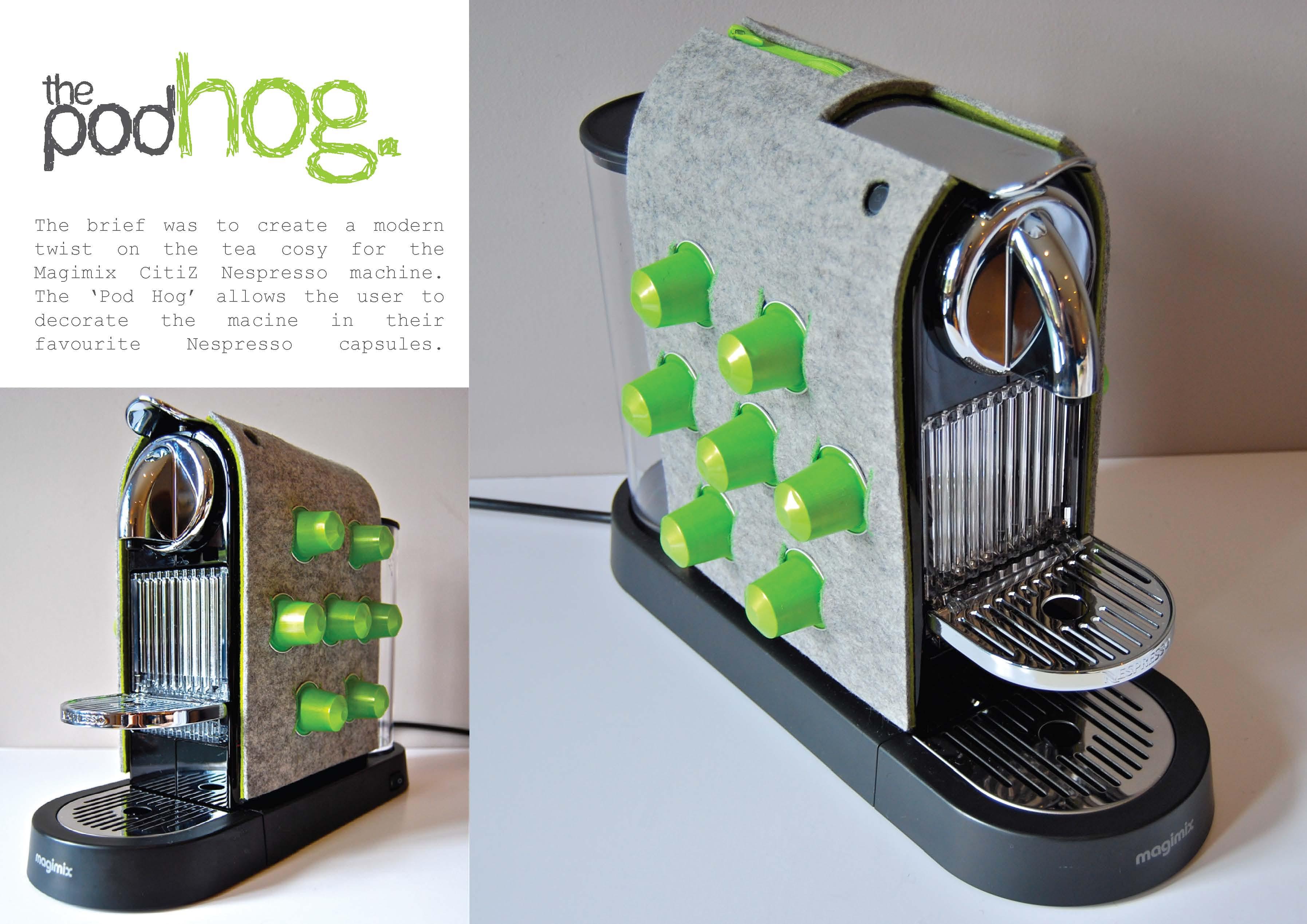 nespresso machine cover