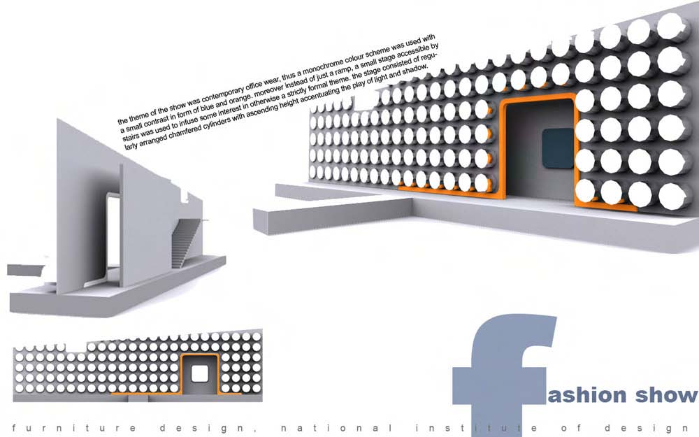Fashion show stage design by rahul singh at - Fashion show stage design architecture plans ...
