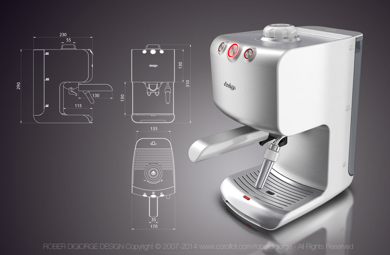 New Coffee Maker Design : Coffee Makers & Espresso Machines by Rober Digiorge at Coroflot.com