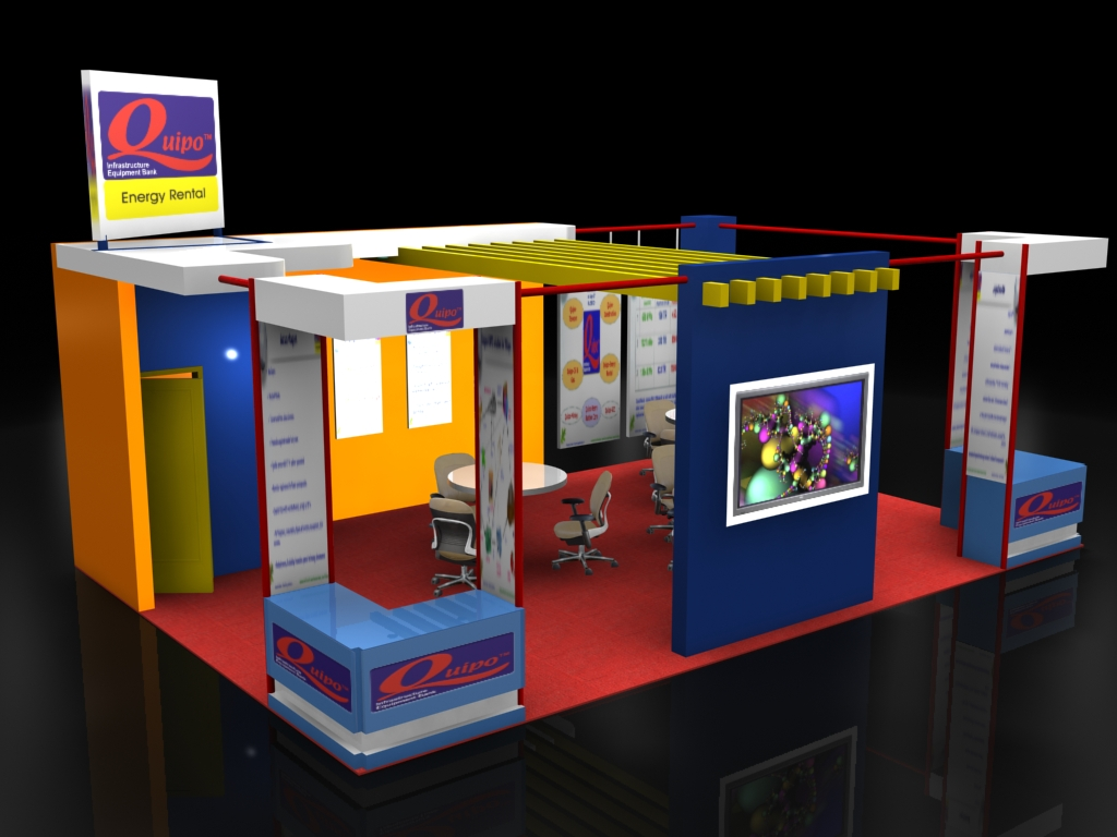 Quipo exhibition stall by nikhil mehta at for Kitchen xpress overseas ltd contact number
