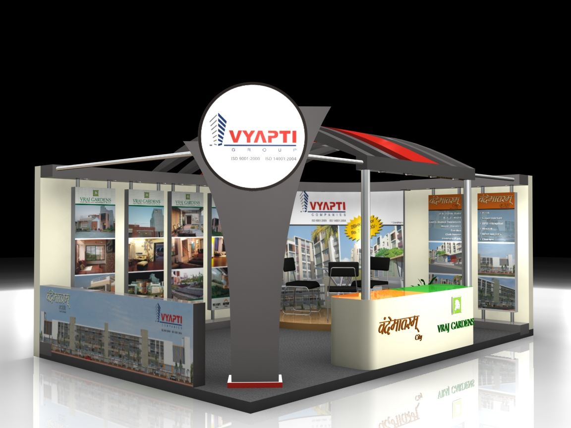 Exhibition Stall Measurements : Vyapti stall by nikhil mehta at coroflot