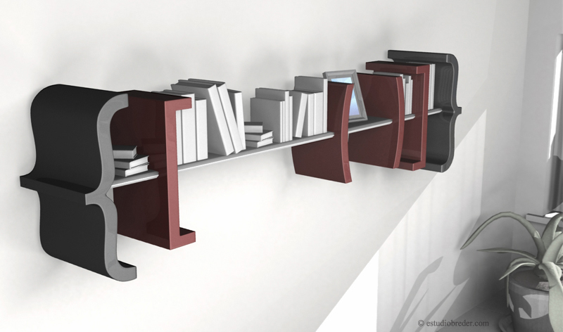 Equation Bookshelf, 2007 - {Equation help you [to organize (your life)