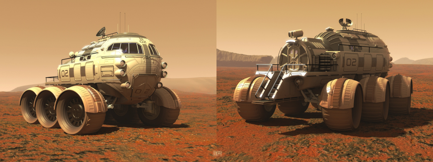 what was the design for the mars rover - photo #29