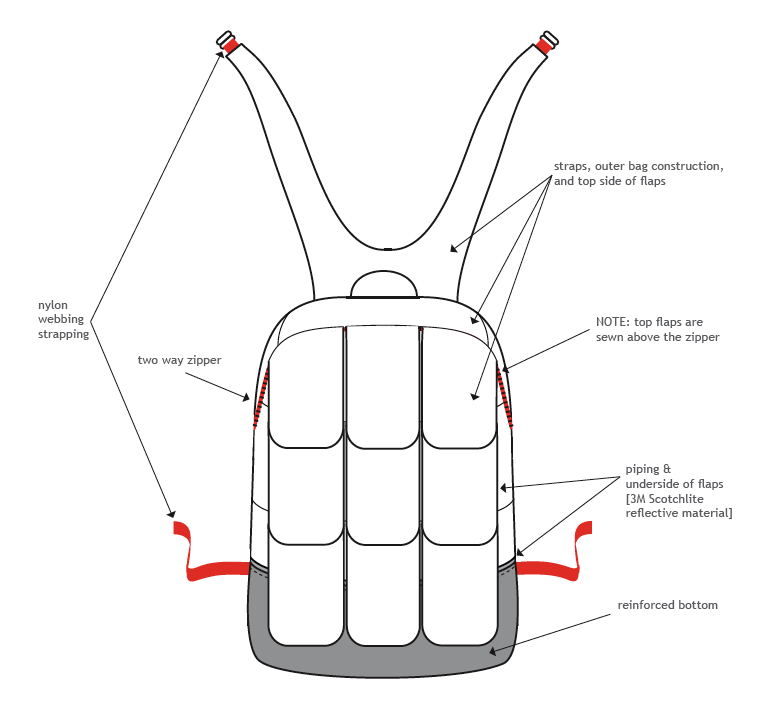 Backpack Tech Pack Backpack Tech Pack Detail