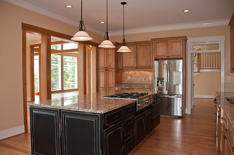Kitchens by amy hart at for Custom home builders charlottesville va