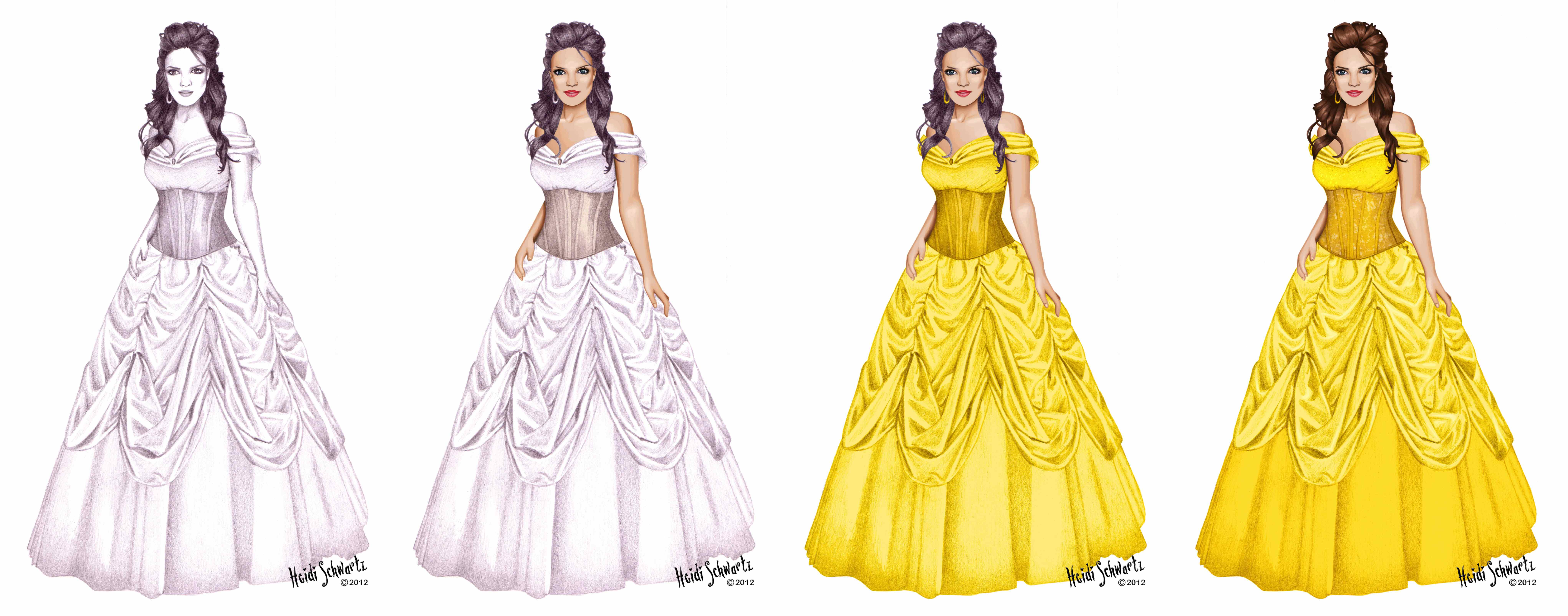 the character development of belle in the story beauty and the beast Interpretations of the character belle from beauty and the beast - by heidi schwartz.