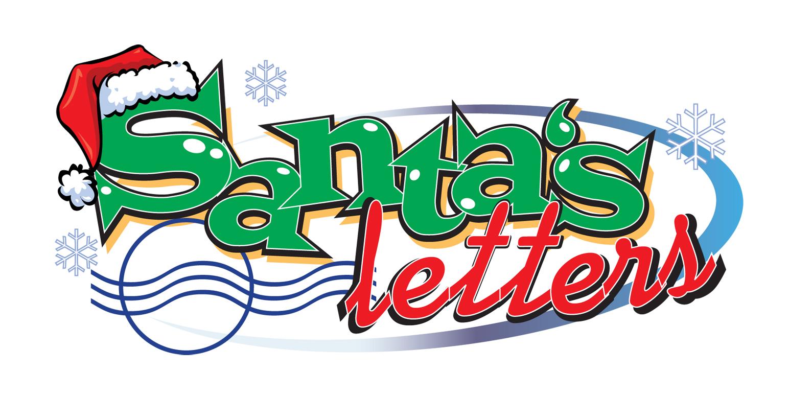 Letter Green Logos Santa's letters - logo used in