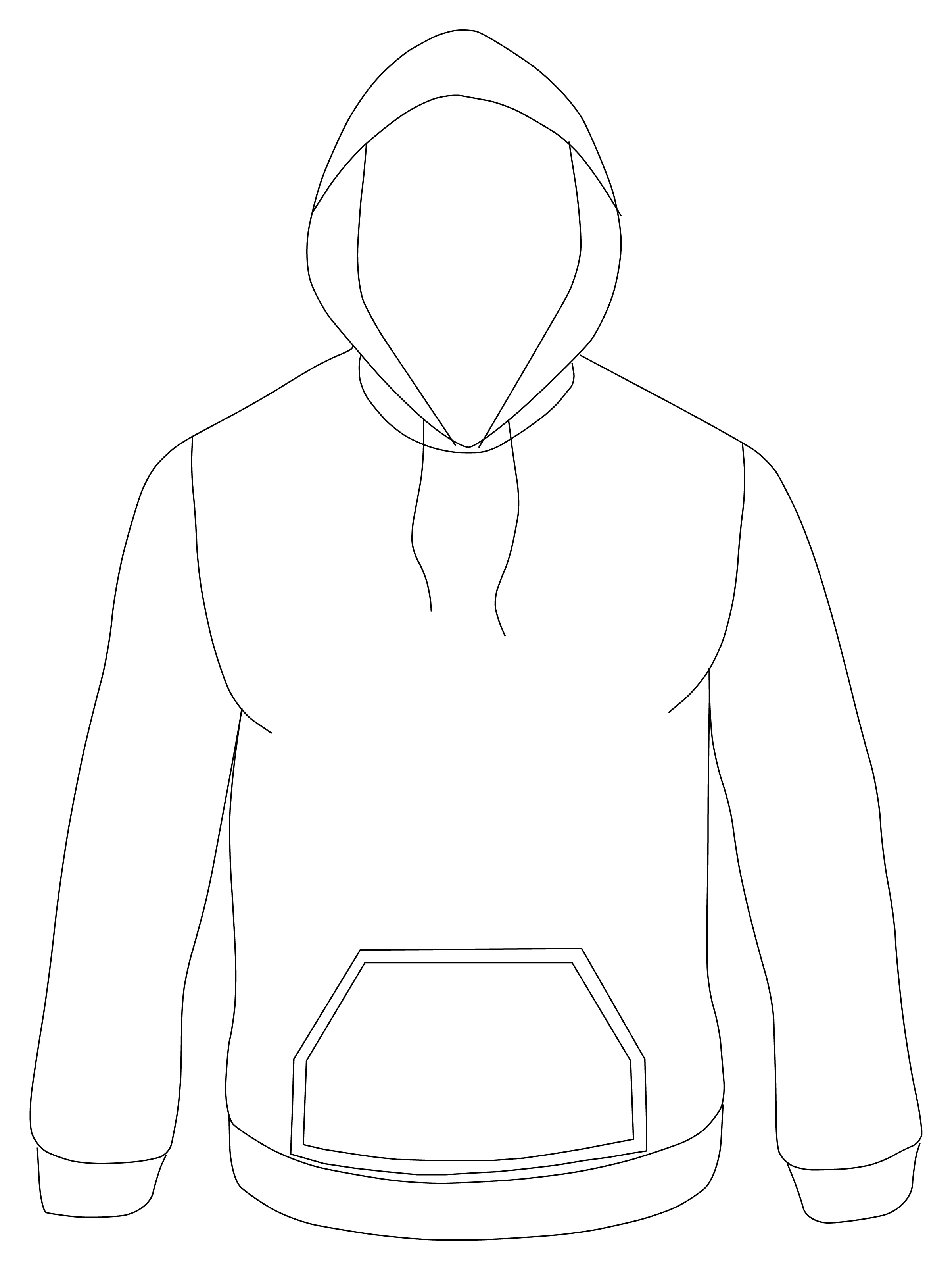 Exelent Hoodie Templates Sketch - Example Resume Ideas ...