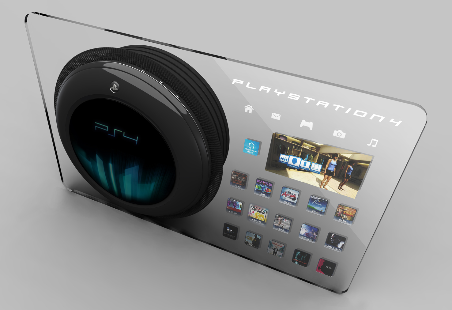 Playstation 4 by T C a...