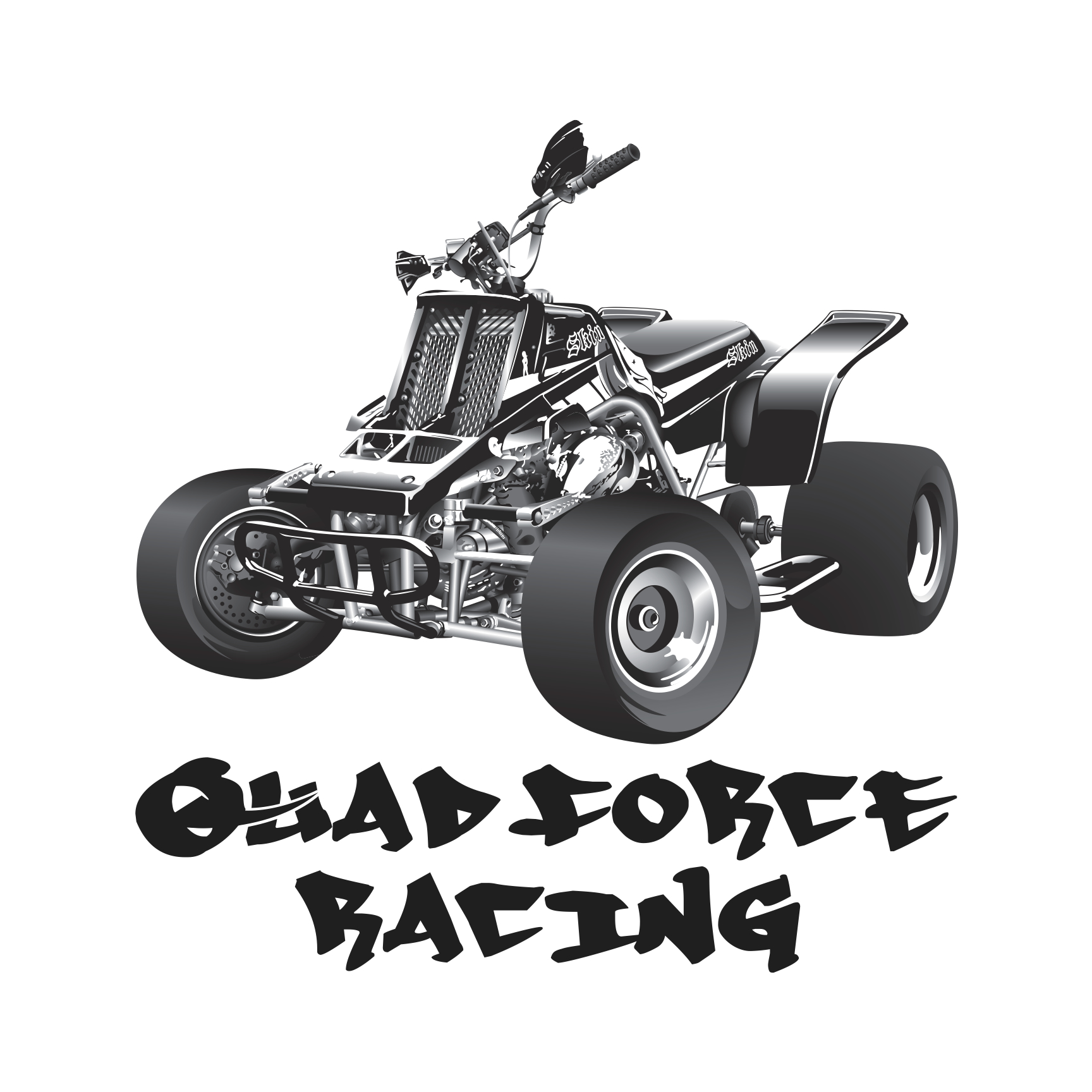 Quad Racing Logo Quad Force Racing This is an