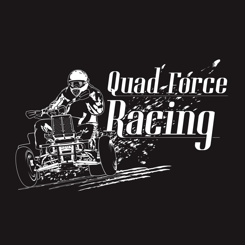 Quad Racing Logo Quad Force Racing Logo Used