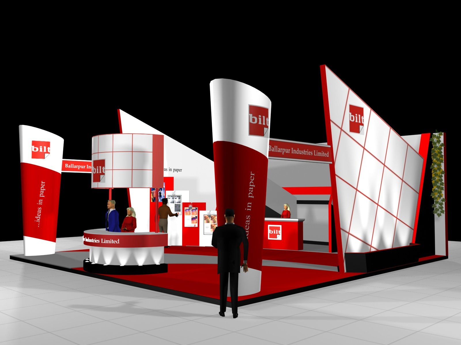 Exhibition Stall Zone : Exhibition design by suneel jain at coroflot