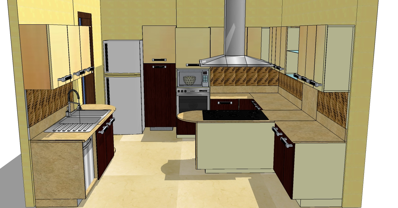 7 x 9 kitchen design for Kitchen design 9