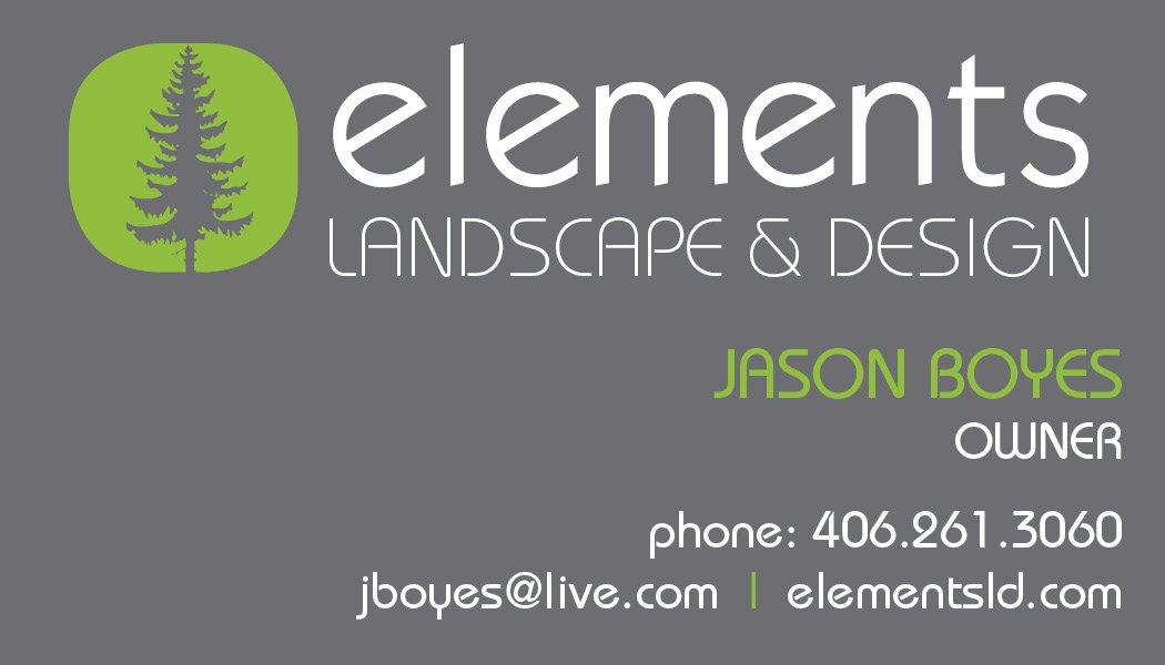 Elements Landscape Design by Bonni van de Wouw at Coroflot.com