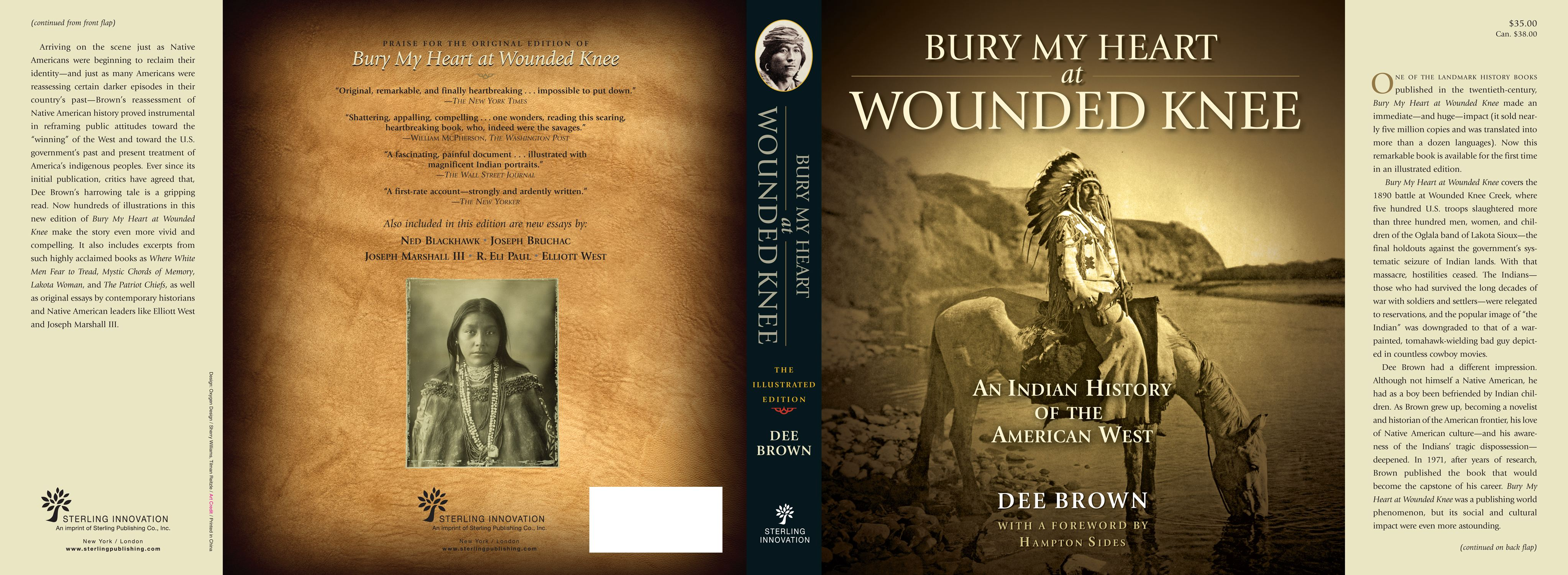 book covers by melissa gerber at com bury my heart at wounded knee art directed the design direction for this title