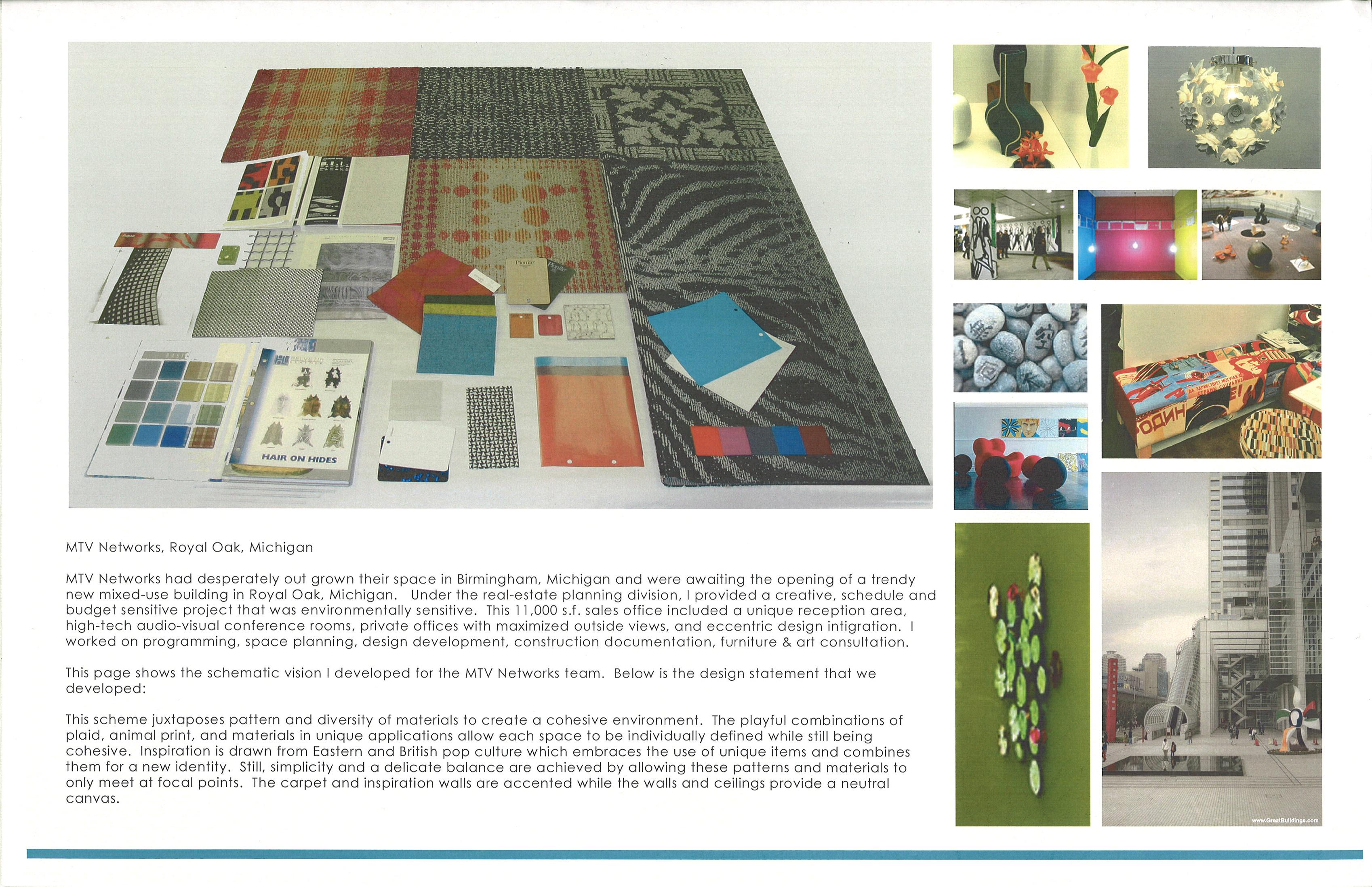 Portfolio by katie blumhorst at for Sample office interior designs
