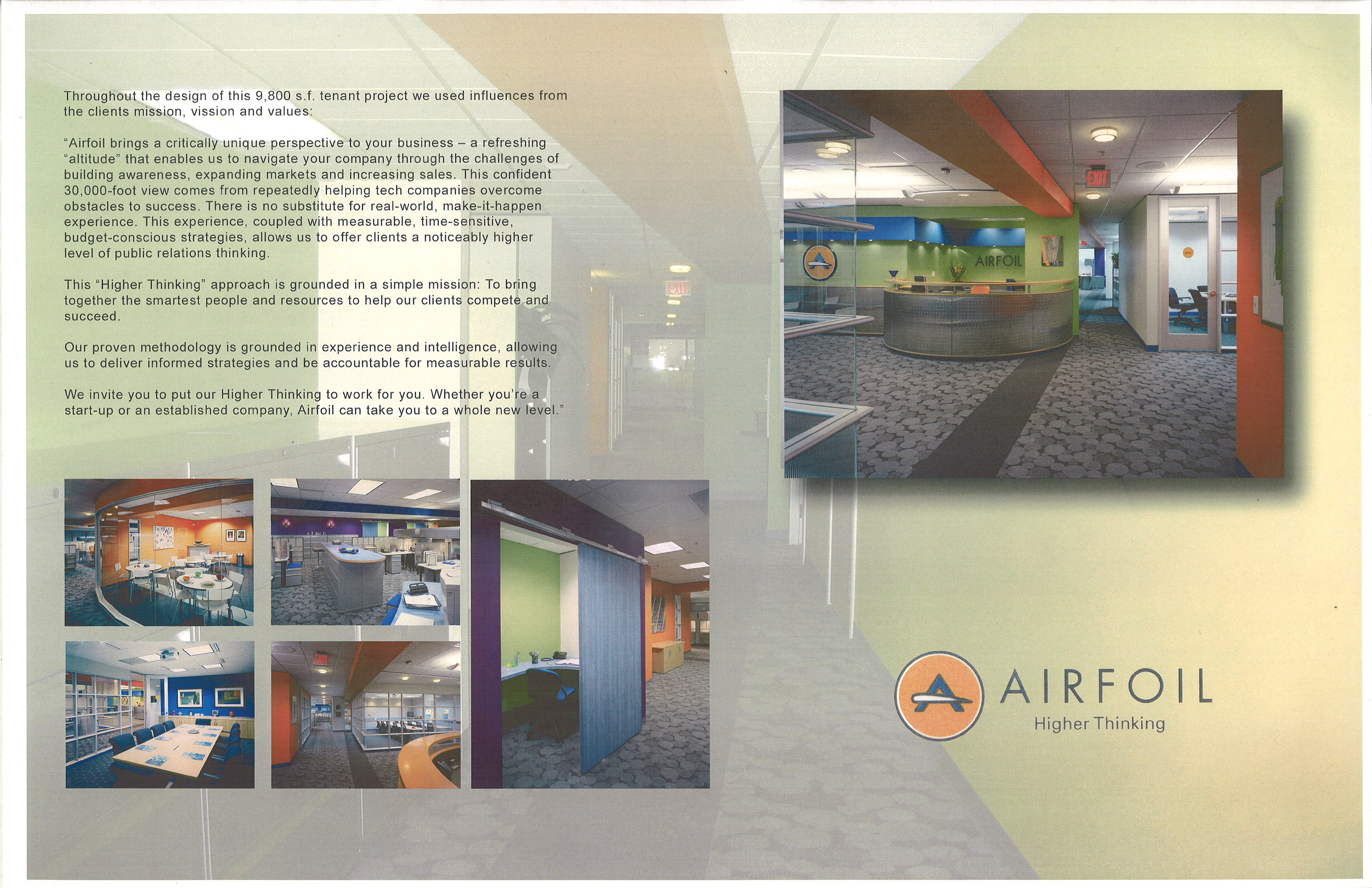 Sample of my professional interior design portfolio images from the