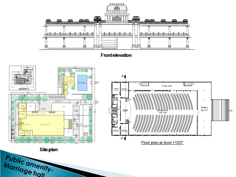 Marriage Hall Front Elevation Images : Marriage hall design front elevation images