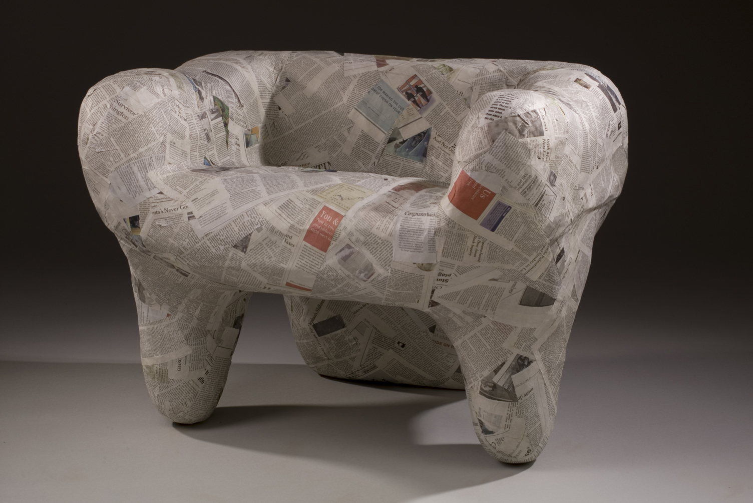 How To Build A Stool Out Of Newspaper