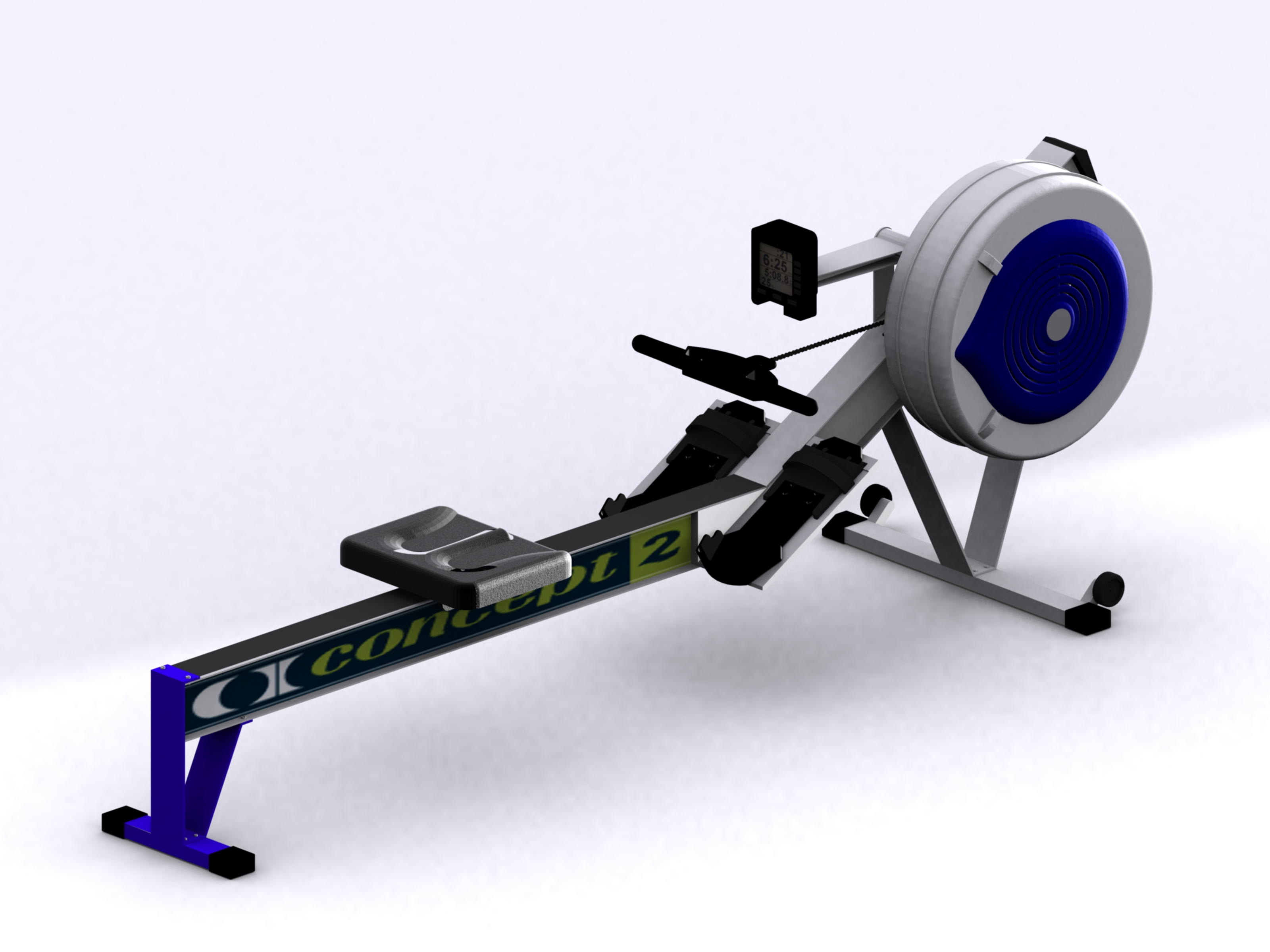 concept 2 model d rowing machine by ashley parker at. Black Bedroom Furniture Sets. Home Design Ideas