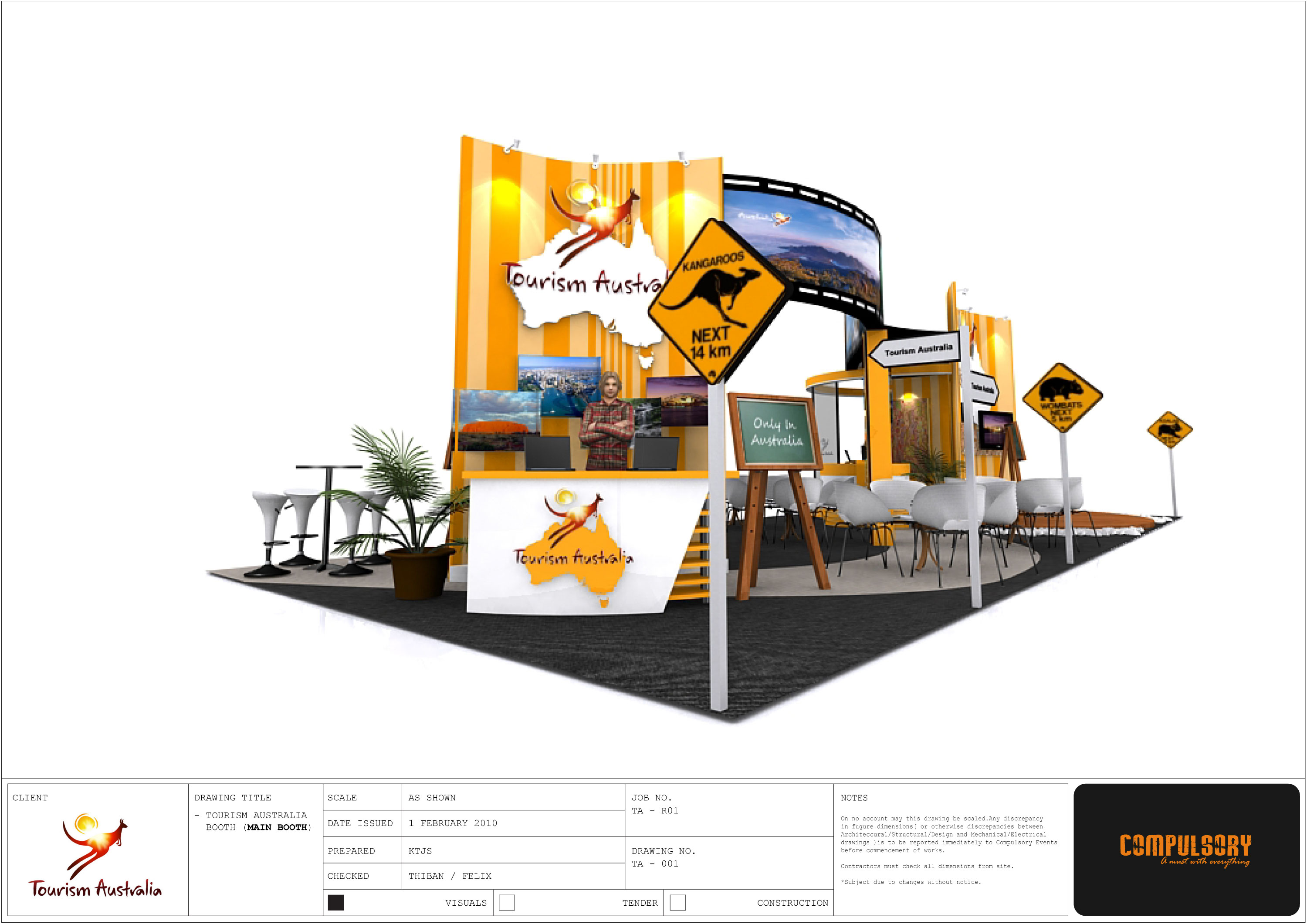 Tourism Exhibition Booth Design : Exhibition design by kenneth tan at coroflot