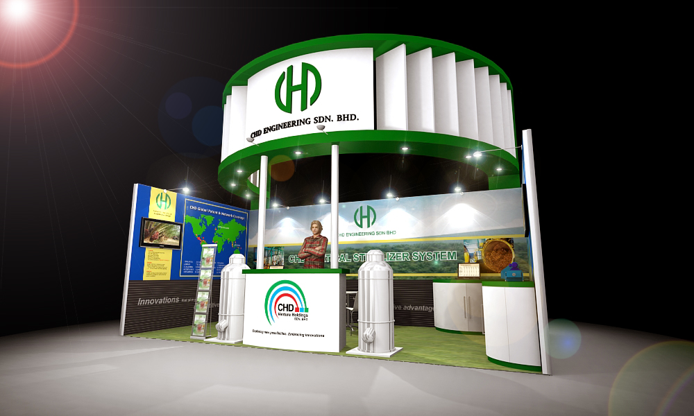 Exhibition Booth Design Johor : Booth design by kenneth tan at coroflot