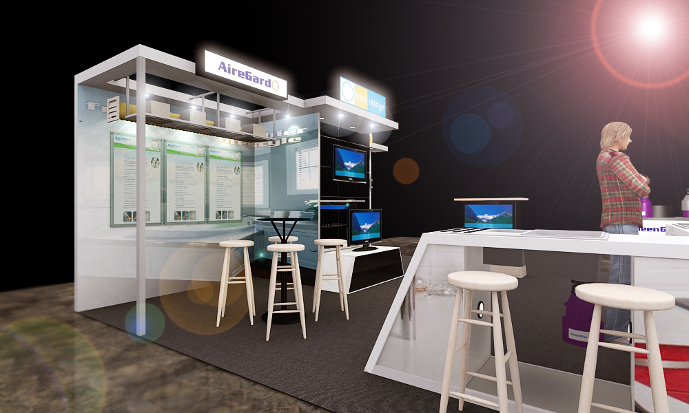 Booth Design by Kenneth Tan at Coroflot.