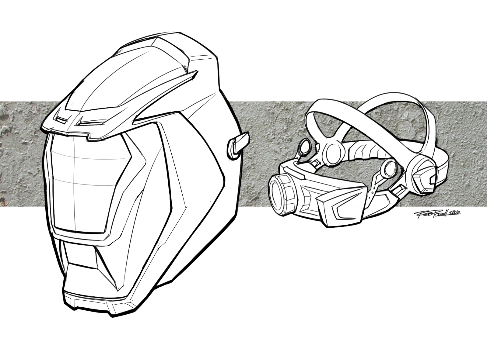 Sketches Amp Renderings By Rob Podell At Coroflot Com