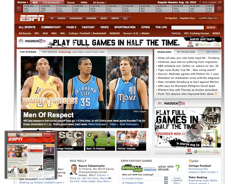 espn who anaylsis of espns webpage essay Amazon web services offers reliable, scalable, and inexpensive cloud computing services free to join, pay only for what you use.
