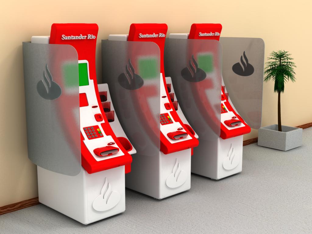 Design by ana kuczwara topczylo at for Cajeros banco santander para ingresar dinero