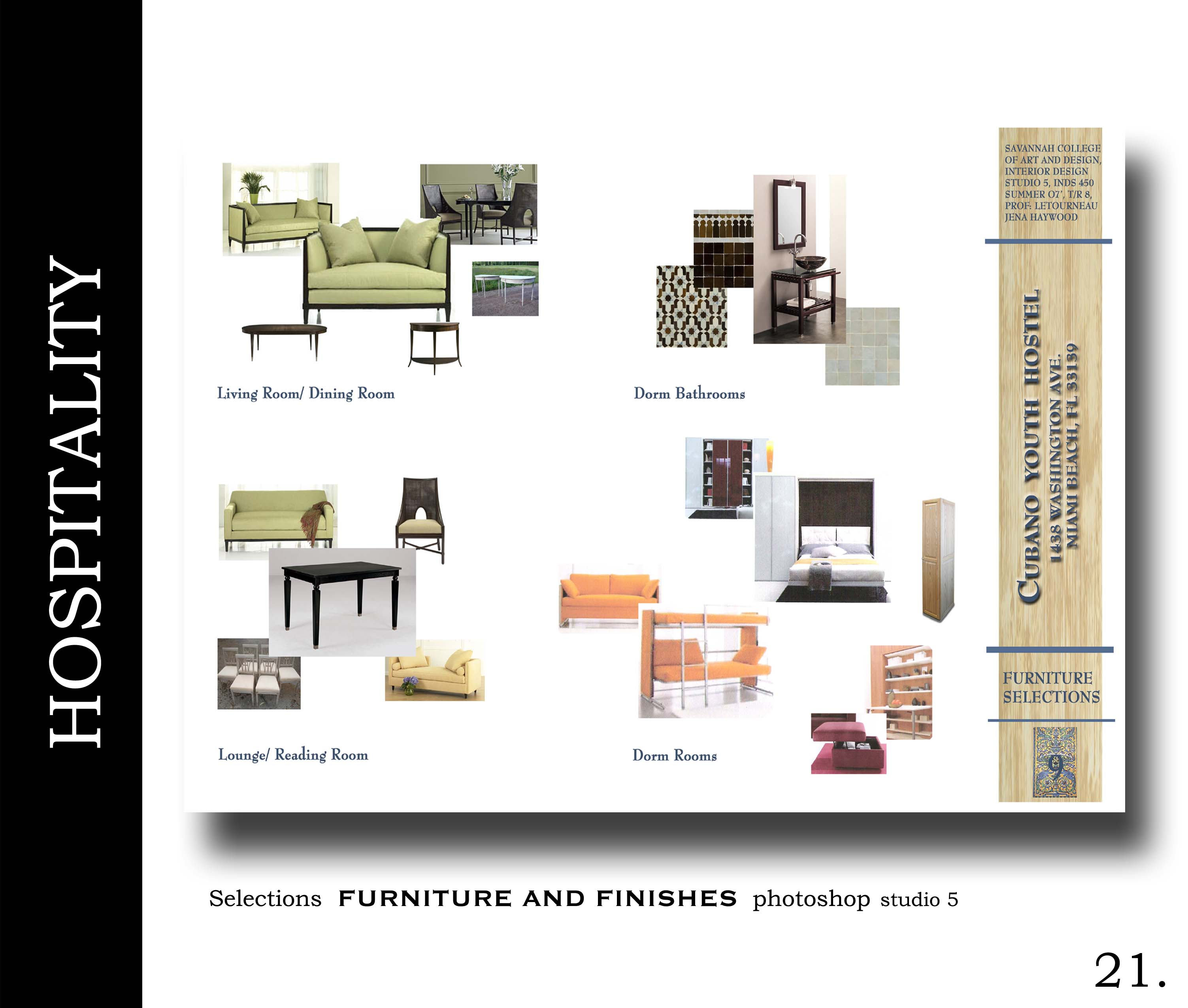 Furniture Selection