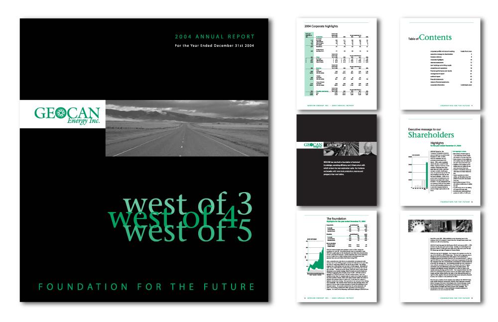 Annual Report Design Awards Geocan Annual Report Award