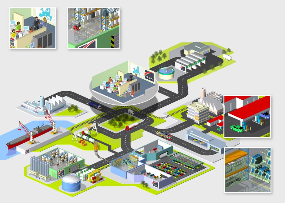 3d Illustrations by Christophe Le Guez at Coroflot.com