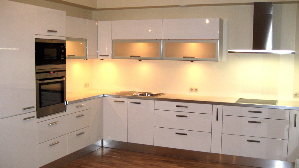 Kitchens by alexander maltseff at for Acrylic sheet for kitchen cabinets