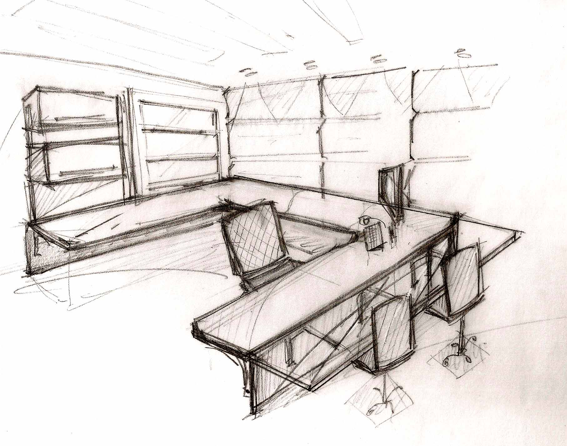 Office furniture design sketches - H Favorite Qview Full Size