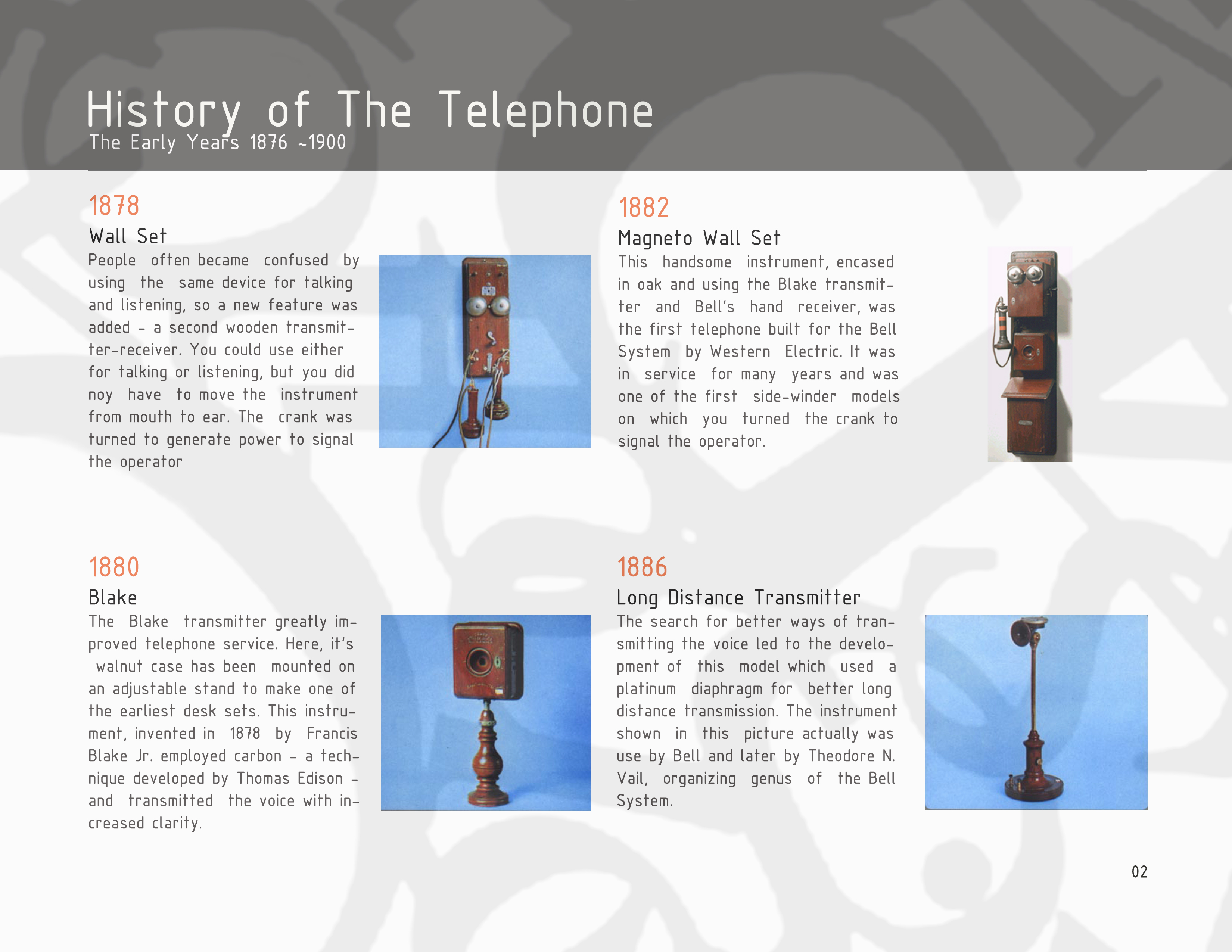 history of telecommunications With cuba, talk about opportunities for us telecommunications companies has   account the history of us-cuba telecommunications relations, the state of the.