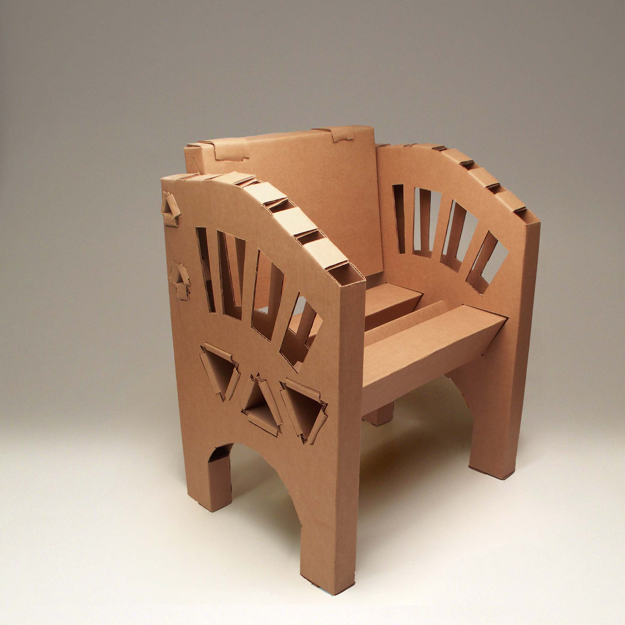 Corrugated Cardboard Furniture Industrial Design Studio By Sammis Richdale At Coroflotcom
