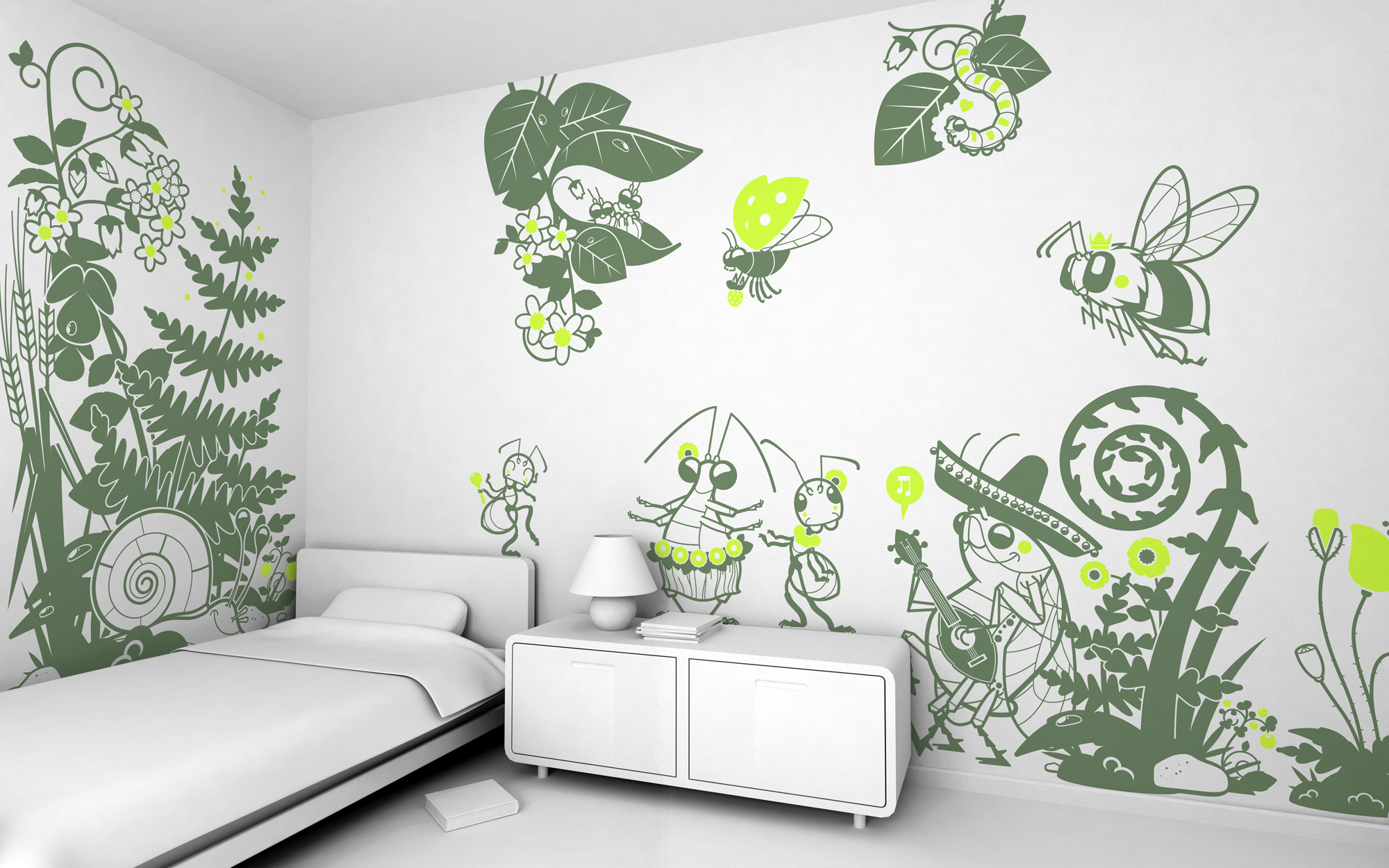 giant kids wall decals by e glue studio at coroflot com h 2 favorite qview full size