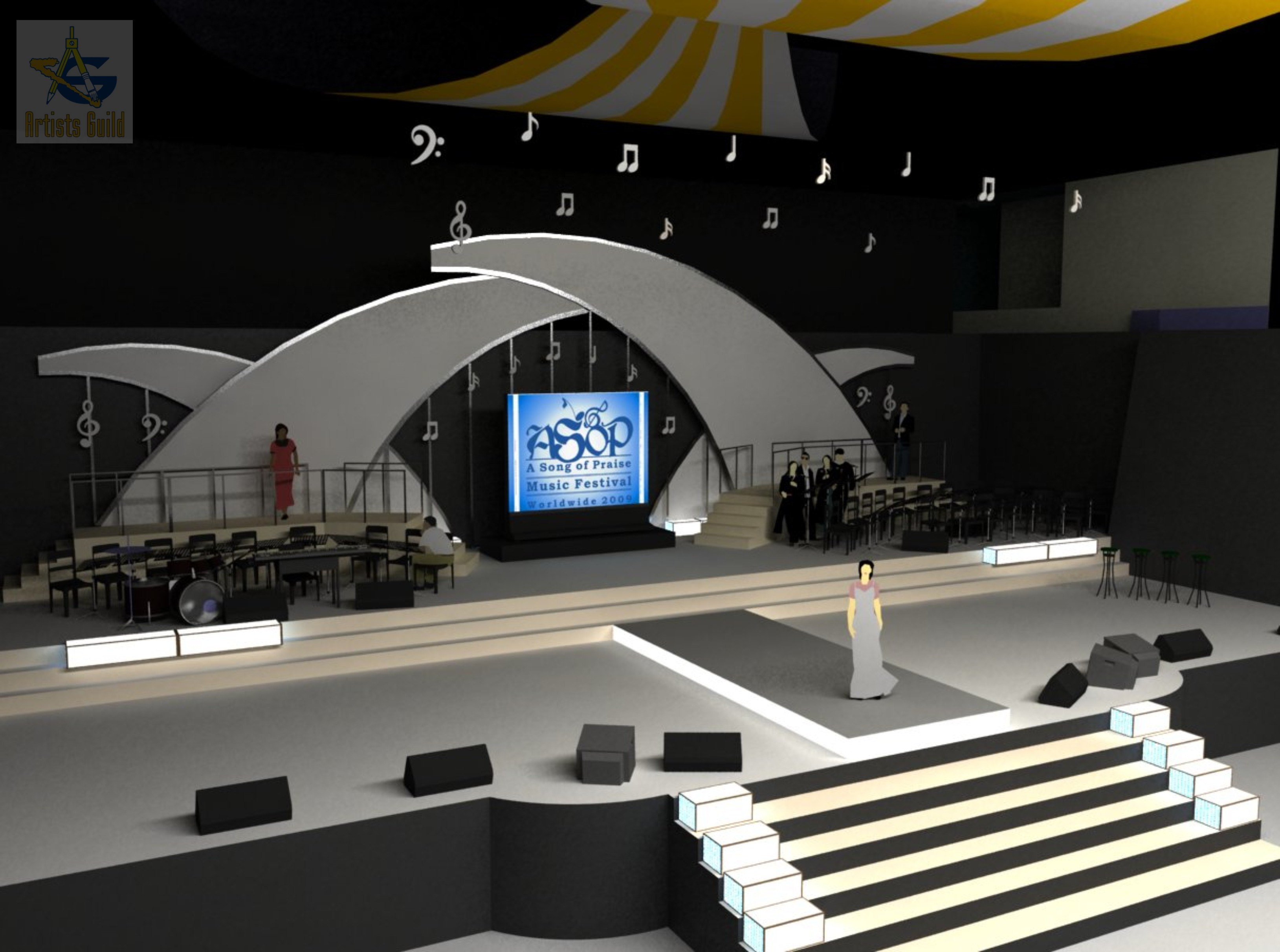 Concert Stage Design Ideas 1000 images about multi stage inspiration on pinterest stage design church stage design and set design Pin Concert Stage Design Ideas On Pinterest