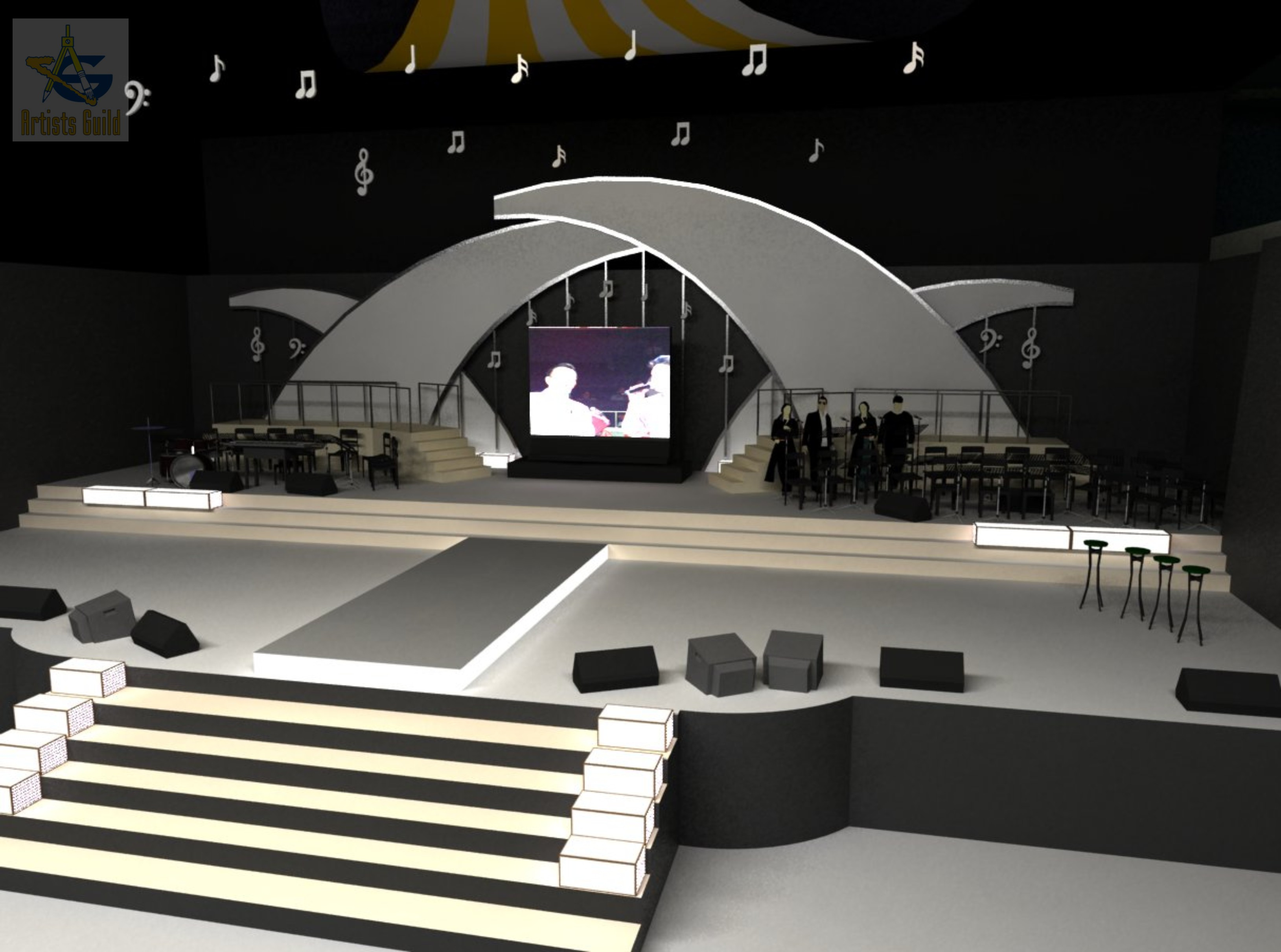 Stage Concepts By Randy Rey At Coroflot Com