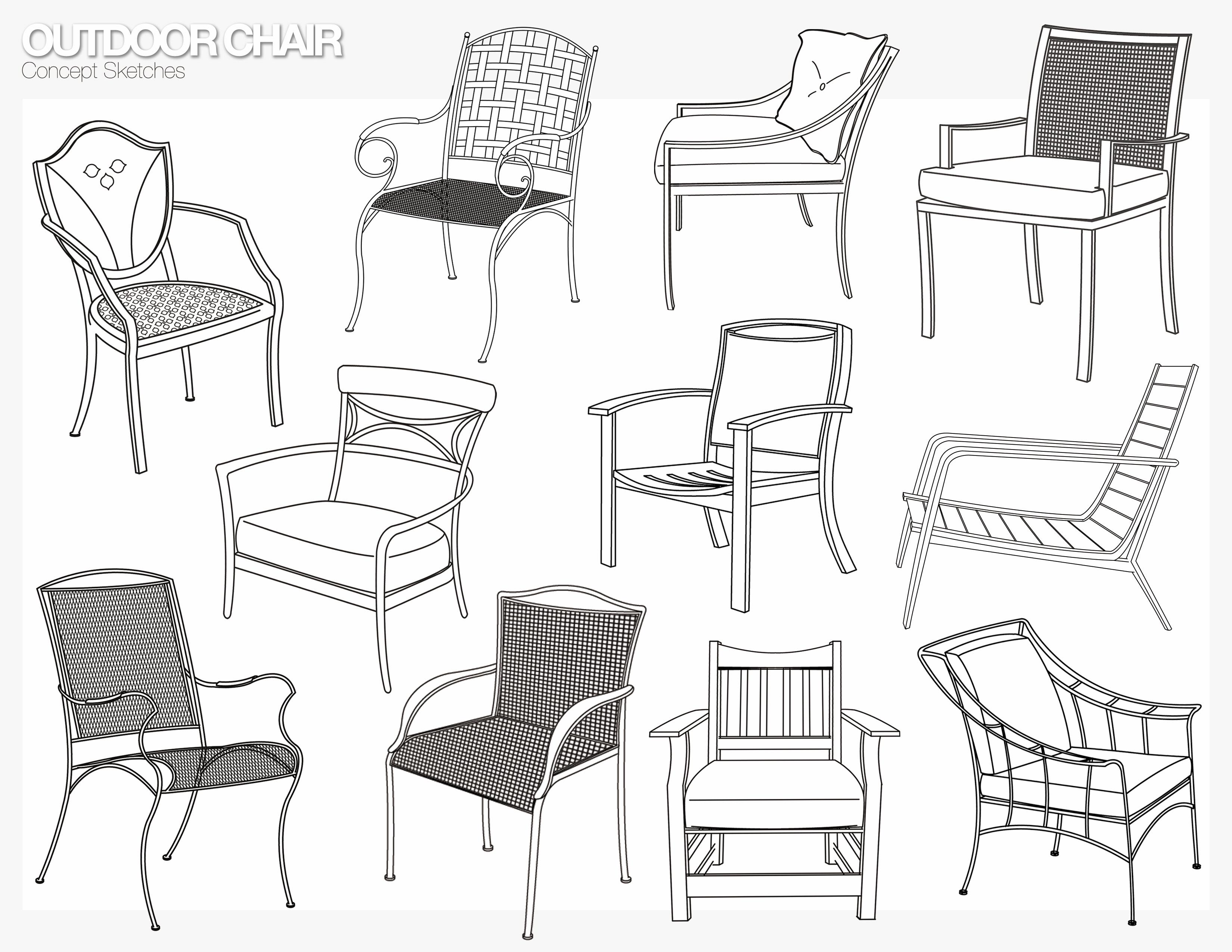 Furniture Design Sketch : Furniture by Roxanna Gressel at Coroflot.com