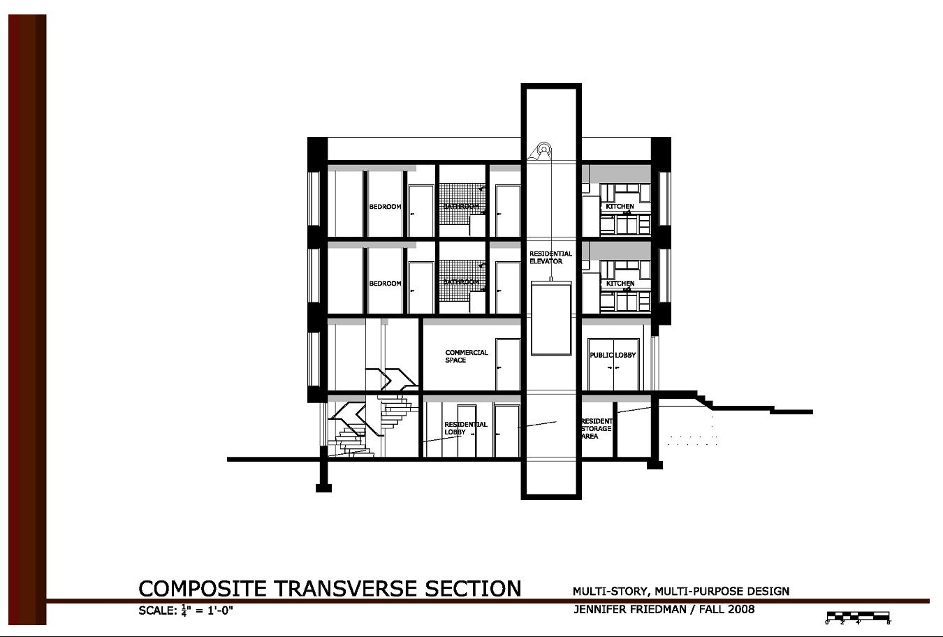 2 Storey Commercial Building Floor Plan Modern House