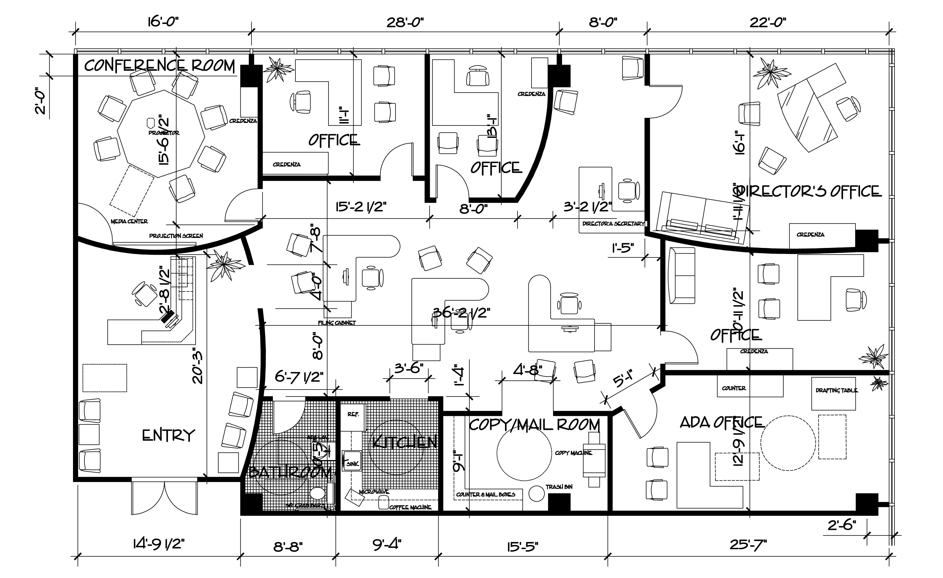 Plan Autocad 2d Home Ideas 2016