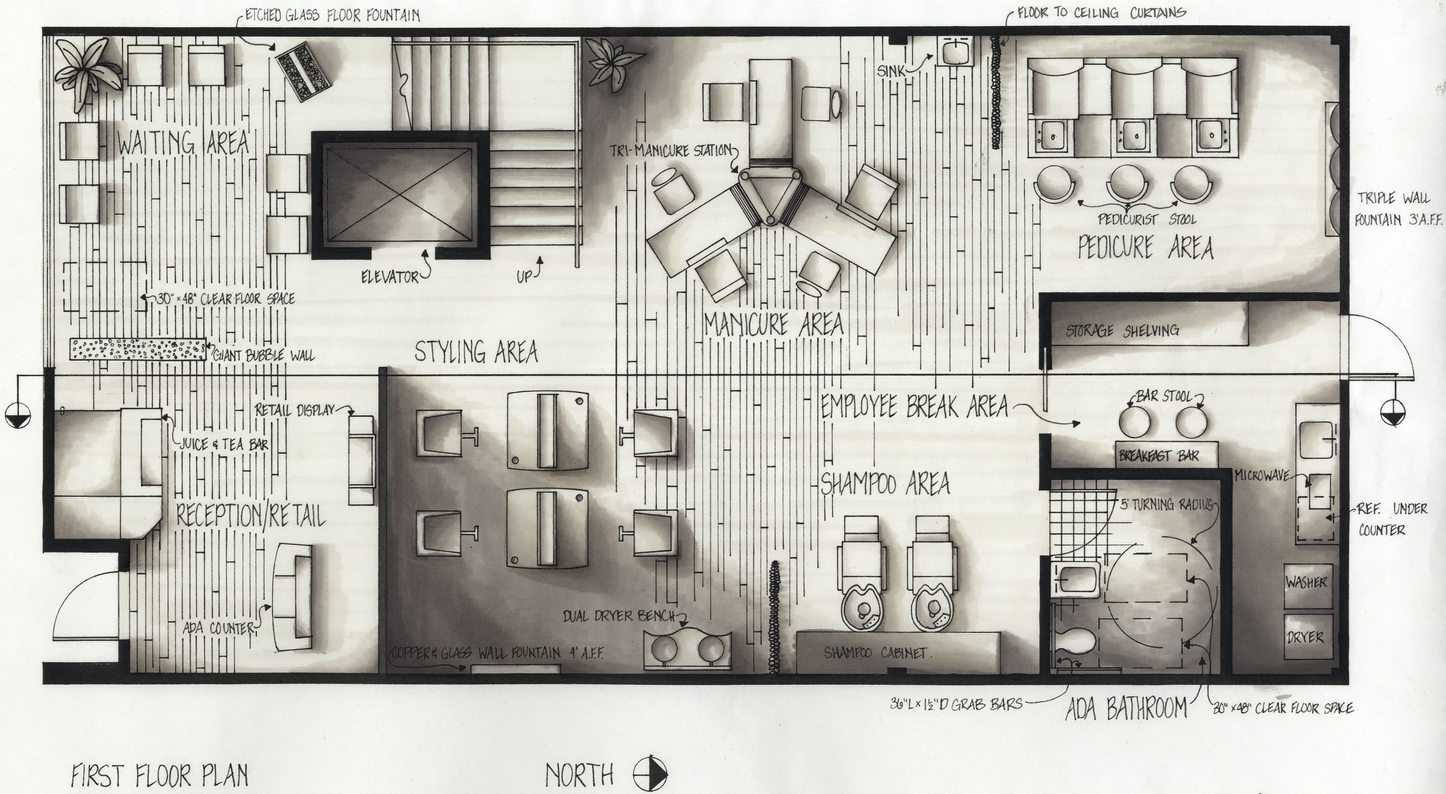 Basic Floor Plans Solution  ConceptDrawcom