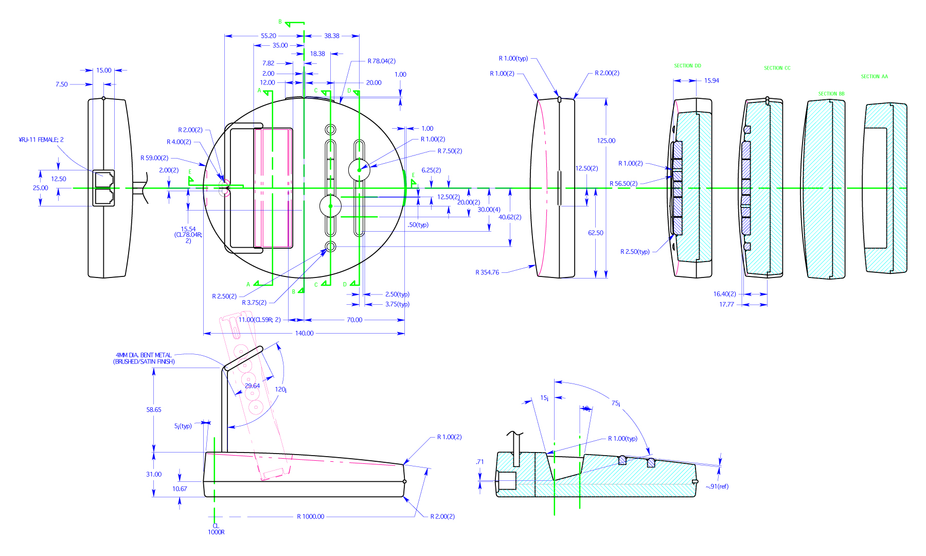 Design Assembly Drawing Control Drawing Detailing