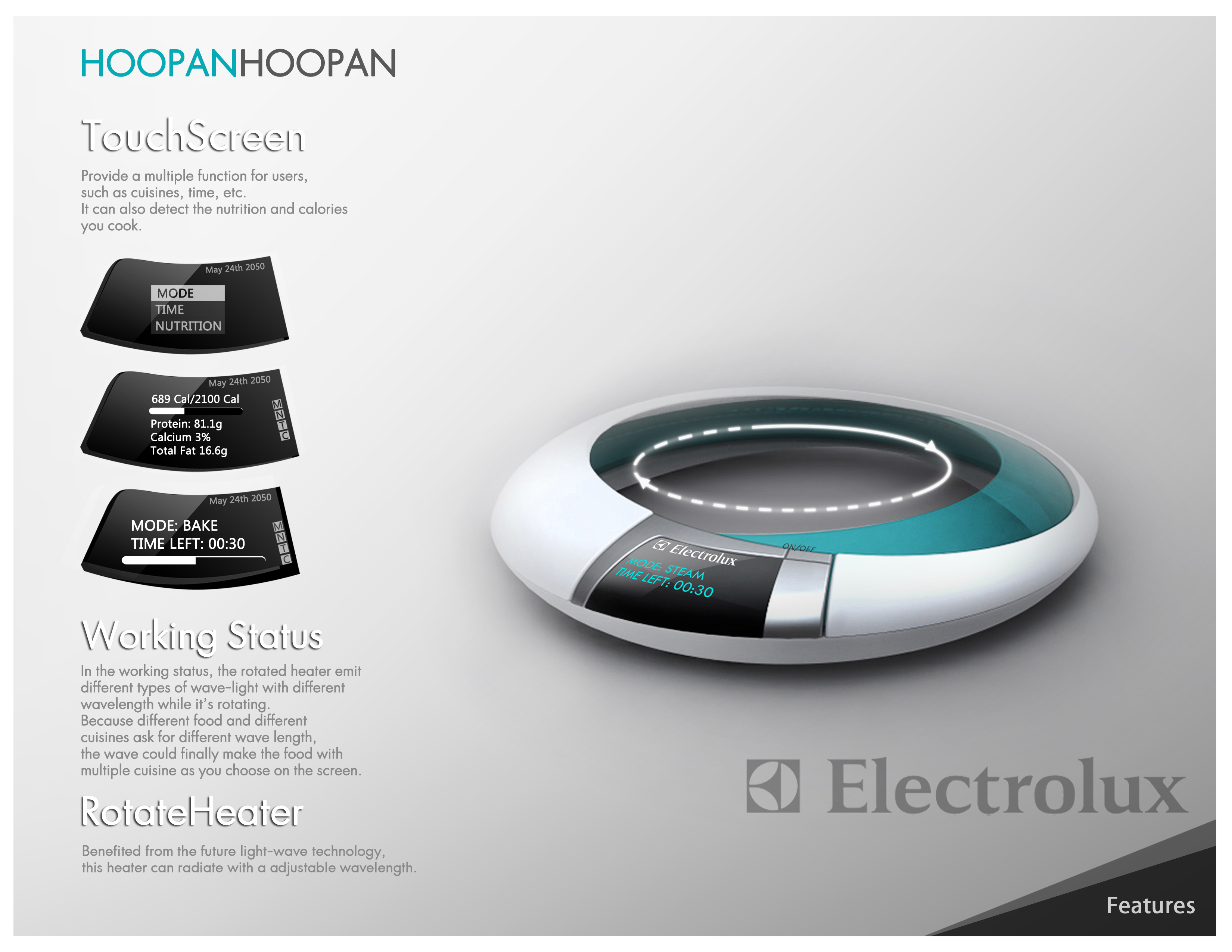 hoopan electrolux design lab by patty peng at. Black Bedroom Furniture Sets. Home Design Ideas
