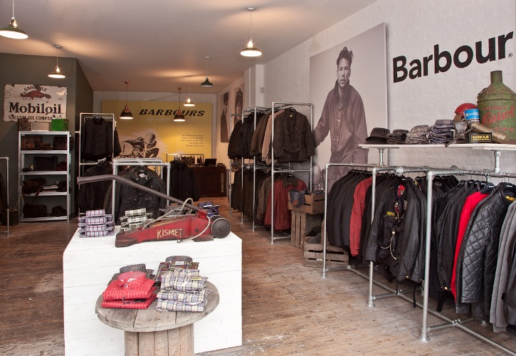 Barbour Shop London