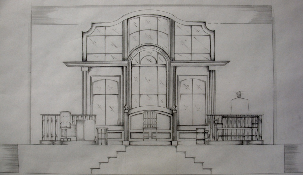 5 Floor Apartment Elevation : Drawings sketches by patrice andrew davidson at coroflot